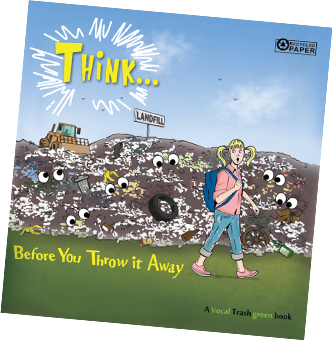 Think... Before You Throw It Away Book Cover